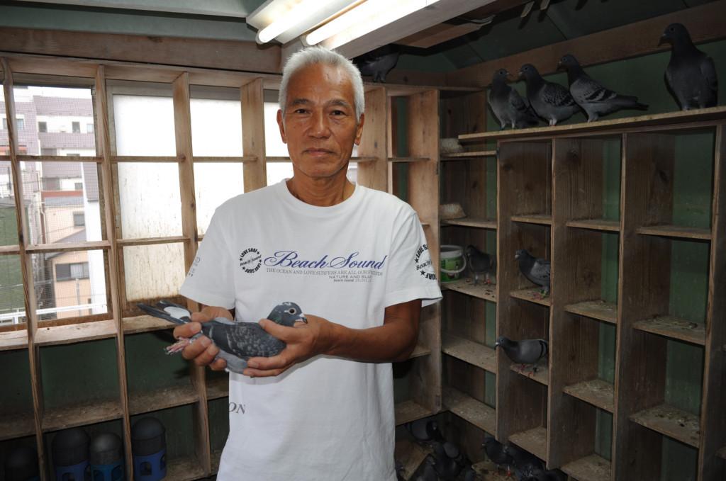 9ポイントで2年連続6度目となるダイヤモンドマーク賞を獲得した及川 茂鳩舎。