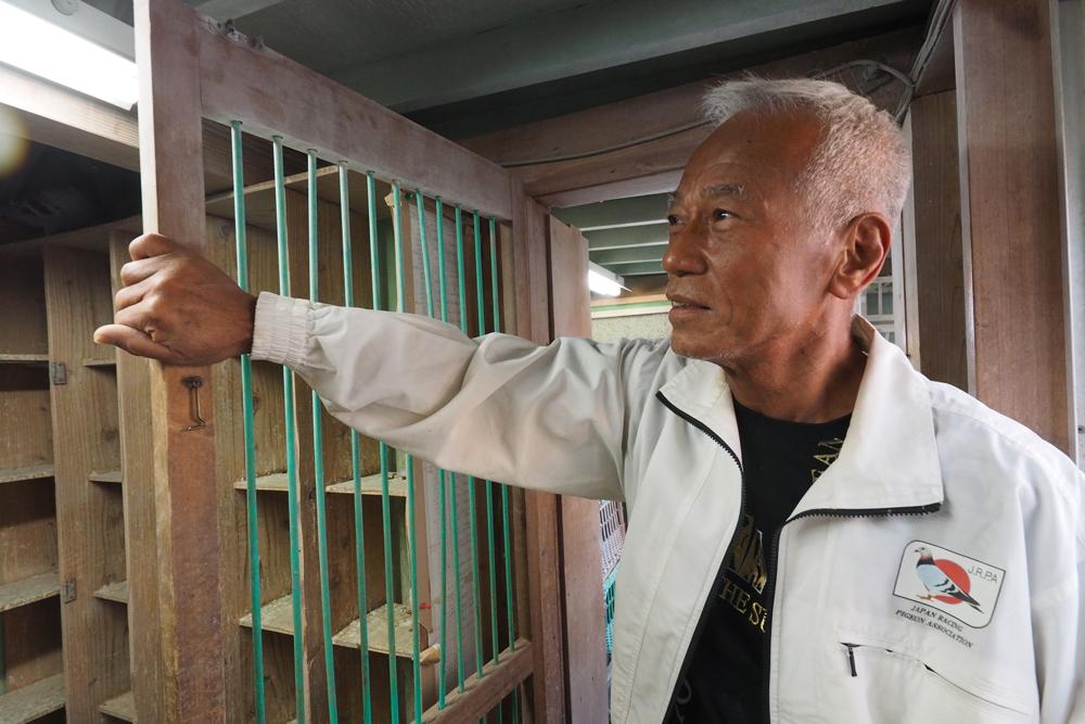 9ポイントで3年連続7度目となるダイヤモンドマーク賞を獲得した及川 茂鳩舎。同鳩舎は05年の初受賞以来、一度も全日本ゼネラルチャンピオン賞を外していない。